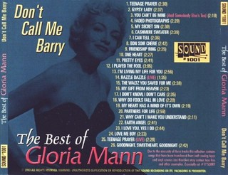 The Best Of Gloria Mann - (Back).JPG